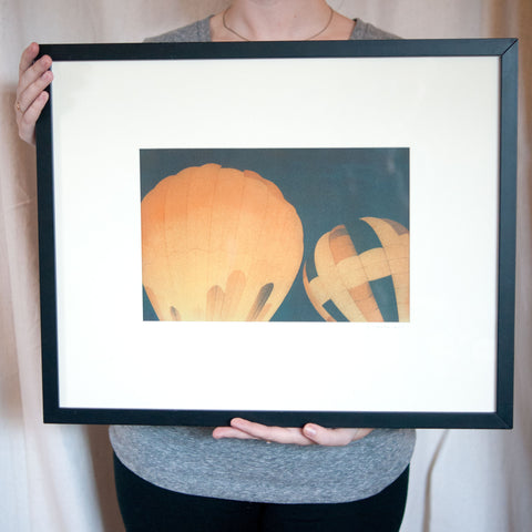 Elizabeth Galecke Hot Air Balloons Print - Gather Goods Co - Raleigh, NC