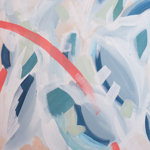 Abstract Oil Painting - Gather Goods Co - Raleigh, NC