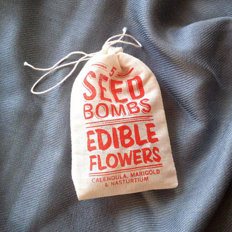 Edible Flower Seed Bombs - Gather Goods Co - Raleigh, NC