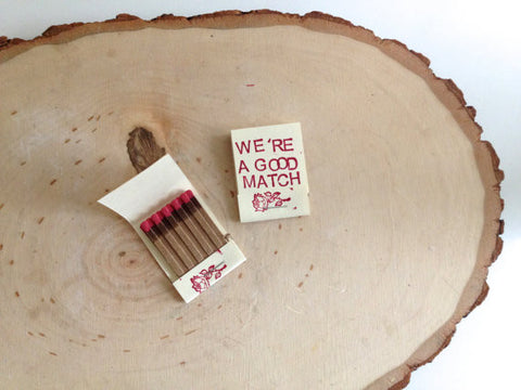WeÕre A Good Match, Set of 2 - Gather Goods Co - Raleigh, NC