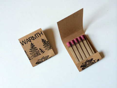 Warmth Matches, Set of 2 - Gather Goods Co - Raleigh, NC