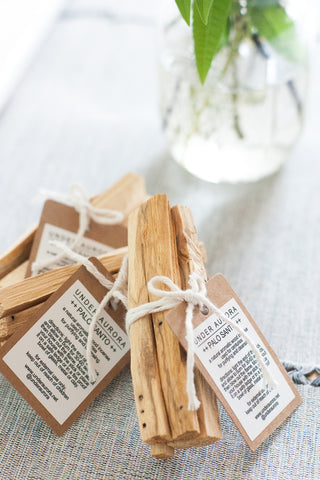 Palo Santo Wood Incense Sticks - Gather Goods Co - Raleigh, NC