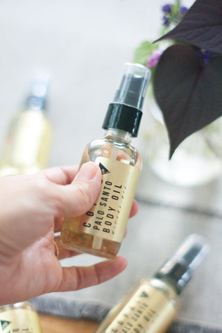 Palo Santo Body Oil - Gather Goods Co - Raleigh, NC