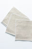 Flax Linen Cocktail Napkins, Set of 4