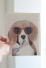 Happy Birthday Beagle Blank Note Card - Gather Goods Co - Raleigh, NC