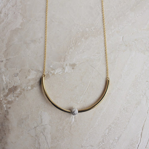Marble Arc Necklace - Gather Goods Co - Raleigh, NC