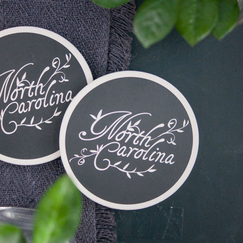 Ceramic Coasters, North Carolina - Gather Goods Co - Raleigh, NC