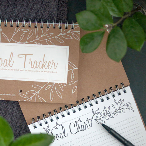 Goal Tracker Journal - Gather Goods Co - Raleigh, NC