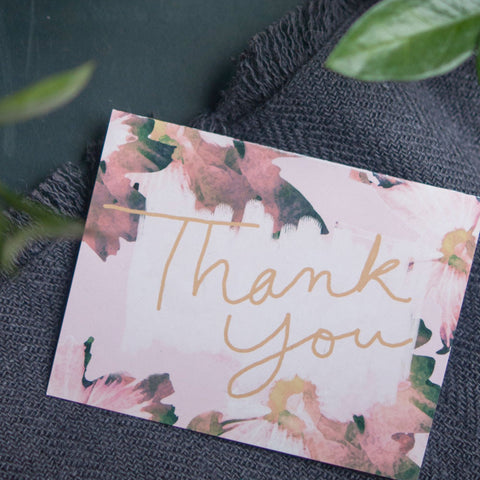 Thank You, Greeting Card - Gather Goods Co - Raleigh, NC