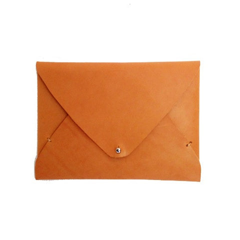 Leather Envelope Clutch - Gather Goods Co - Raleigh, NC