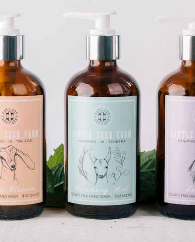 Essential Oil Goat's Milk Hand Soap - Gather Goods Co - Raleigh, NC