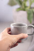 Gray Espresso Mug Cups, Petite - Gather Goods Co - Raleigh, NC