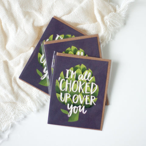Sympathy Card, Funny, Artichoke - Gather Goods Co - Raleigh, NC