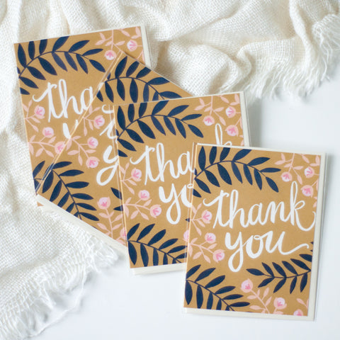 Thank You Card - Gather Goods Co - Raleigh, NC