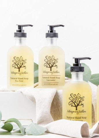 Liquid Hand Soap Pump, Lavender