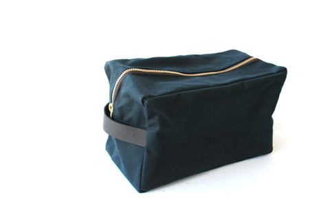 Waxed Canvas Dopp Kit - Gather Goods Co - Raleigh, NC