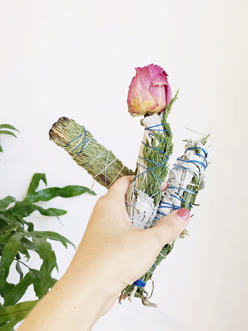 SPECIAL LISTING - Smudge Stick Class & Meditation - Saturday July 14 - 2pm-4pm - Gather Goods Co in Downtown, Cary NC