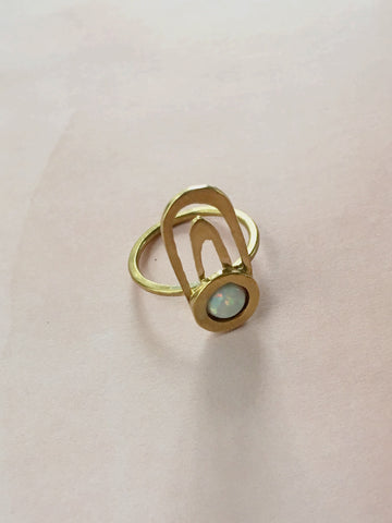 Opal Arches Ring - Gather Goods Co - Raleigh, NC