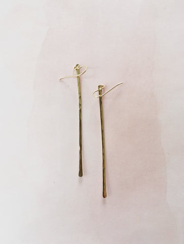 Long Lines Earrings - Gather Goods Co - Raleigh, NC