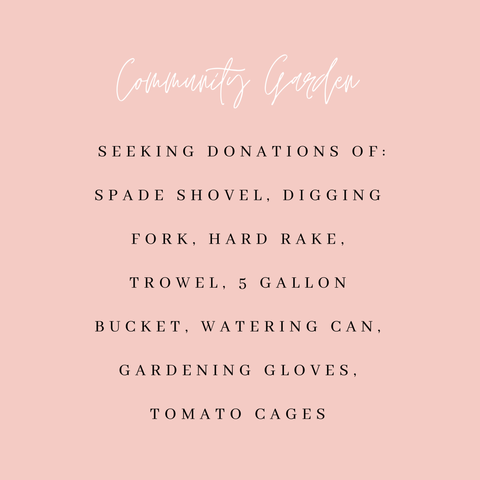 Gather Community Garden Donation