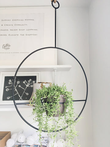 Hanging Plant Holder - Gather Goods Co - Raleigh, NC