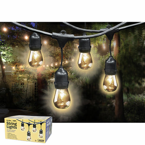 Outdoor LED Lights, 24feet - Gather Goods Co - Raleigh, NC