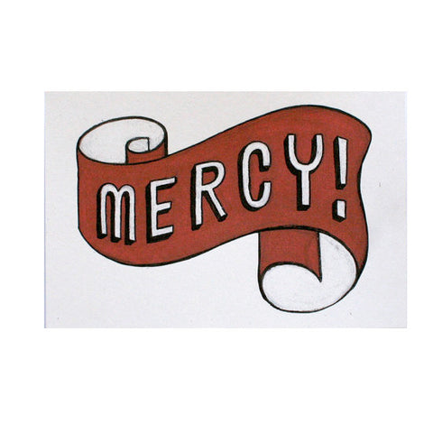 Mercy 4x6 Print - Jordan Grace Owens - Gather Goods Co - Raleigh, NC
