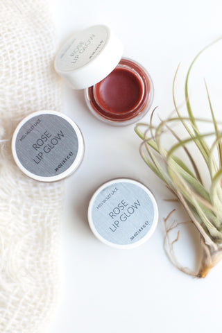 Rose Lip Balm - Gather Goods Co - Raleigh, NC