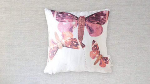 Fluttering Moths Pillow - Gather Goods Co - Raleigh, NC