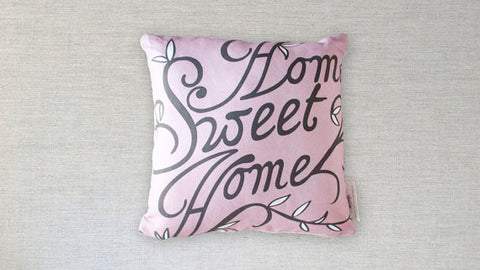 Home Sweet Home Pillow - Gather Goods Co - Raleigh, NC