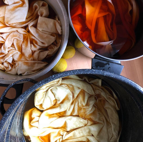 Natural Dyeing Class - Sunday September 9 - 2pm-5pm