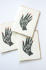 High Five Hand Note Card