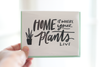 Home is Where My Plants Are Note Card