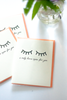 I Only Have Eyes for You Note Card - Gather Goods Co - Raleigh, NC