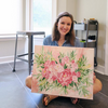 Painting Florals Class, Saturday March 16, 11am