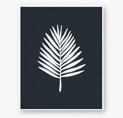 Palm Frond Art Print - Gather Goods Co - Raleigh, NC