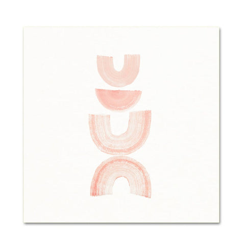 Pink Rainbows Abstract Art Print - Gather Goods Co - Raleigh, NC