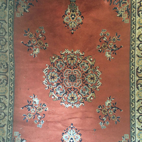 Pink Oriental Rug, 5x7 - Gather Goods Co - Raleigh, NC