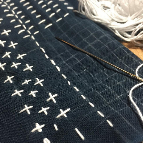 Sashiko Embroidery Class - Saturday September 22, 10am-12:00pm