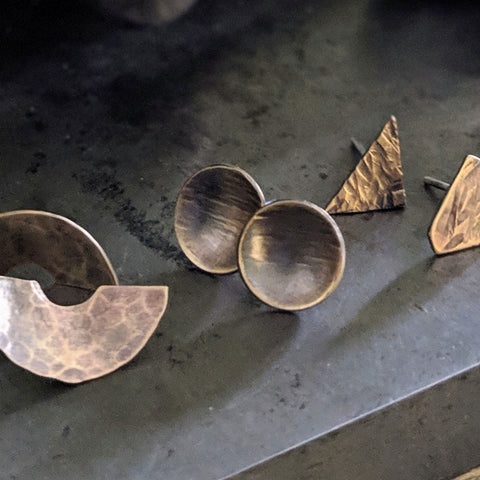 Metal Earring Class, Thursday April 11, 6:30pm