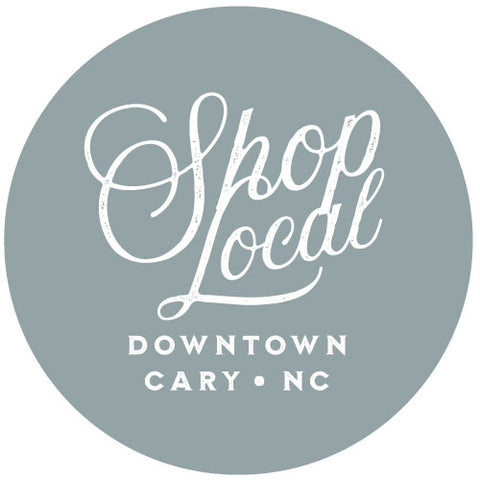 Shop Local Downtown Cary Sticker, Food Pantry Benefit, Pre-Order - Gather Goods Co - Raleigh, NC