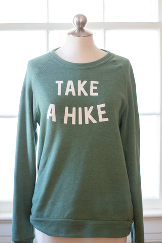 Take A Hike Super Soft Sweatshirt - Gather Goods Co - Raleigh, NC
