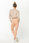 GoalDigger Sweatpants Blush w/ Creme Waistband