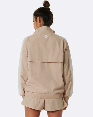 Kay Two Tone Jacket (Cream)