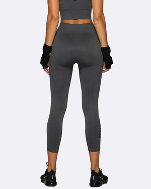 Seamless Tights - Charcoal