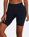 NAVY BIKE SHORTS SEAMLESS