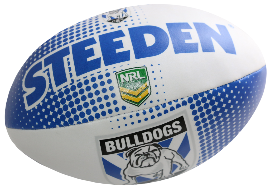 NRL Team Supporter Footballs - Bulldogs