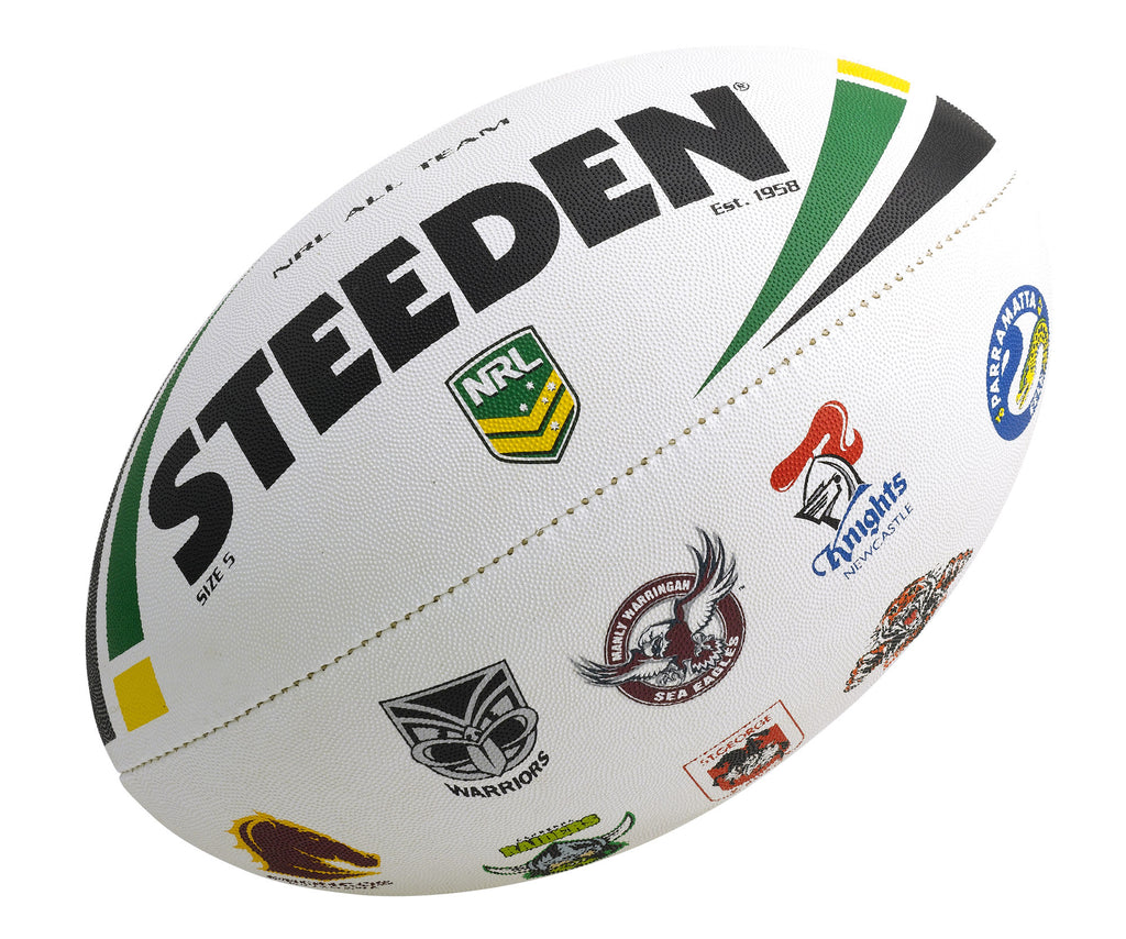 NRL All Team Logo Ball