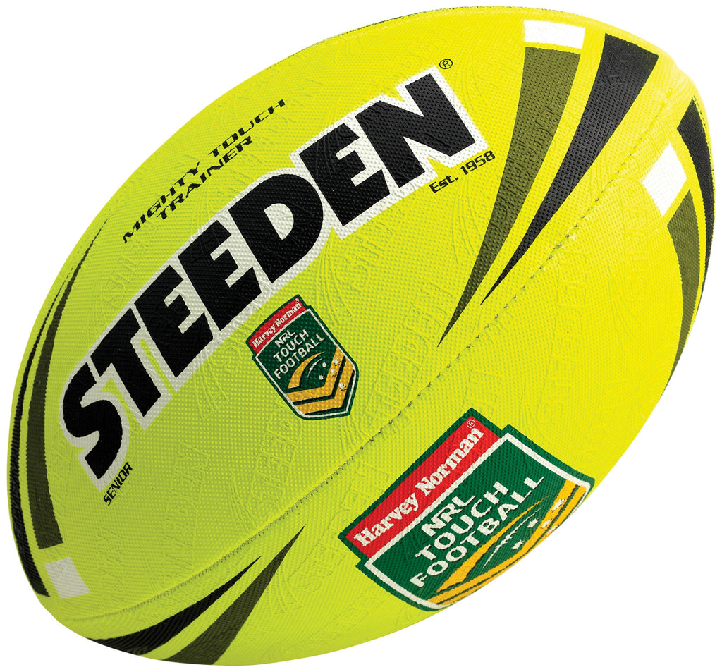 NRL Mighty Touch Trainer - Fluoro Yellow