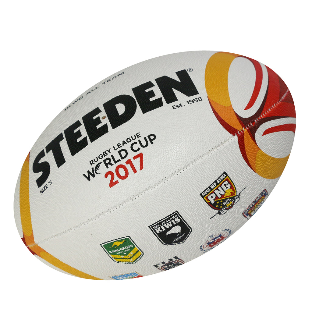 RLWC 2017 All Nations Logo Ball